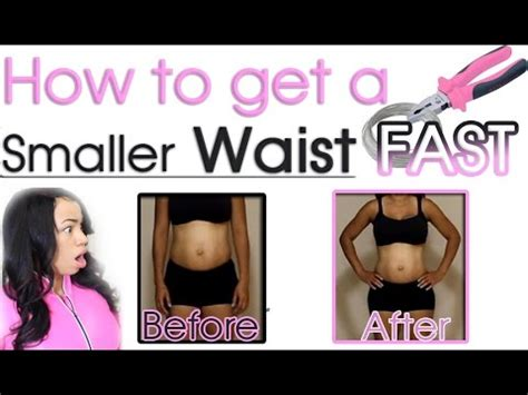 how to make waist how to make your waist smaller for