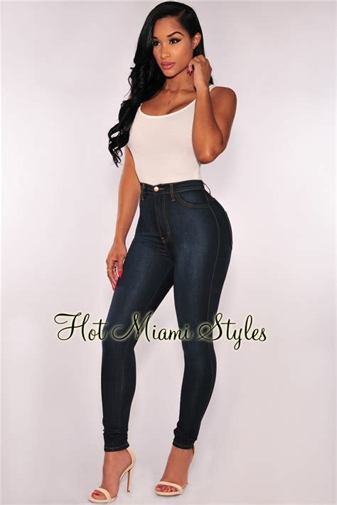 Hw Highwaist 2 wash denim high waist