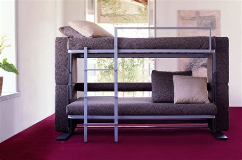 double bunk bed couch doc xl a sofa bed that converts in to a bunk bed in two