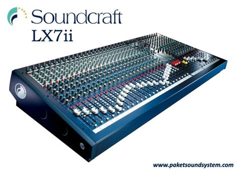 Mixer Audio Baru mixer audio soundcraft lx7ii series paket sound system