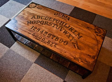 ouija board coffee table quot don t play it alone quot 16 ouija board inspired tables
