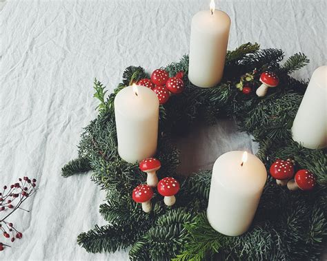 adventskranz selber binden images diy candle centerpieces 40 enchanting ideas