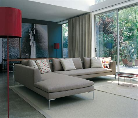 charles ch228 lounge sofas from b b italia architonic