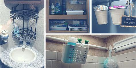 motorhome interior storage ideas rv bathroom storage organization ideas rv inspiration