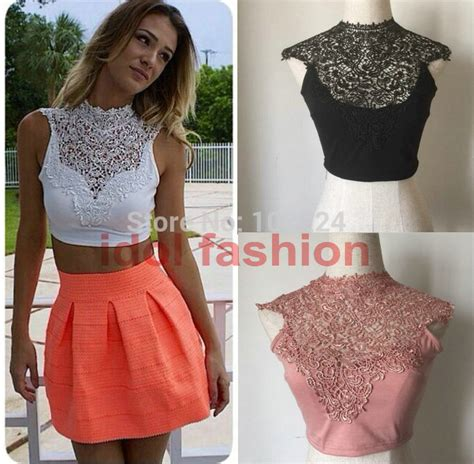 43322 Black Fifth Lace Casual Top image gallery tops