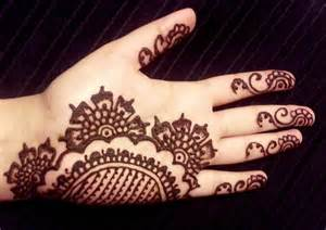 simple arabic henna floral elegant mehendi design youtube