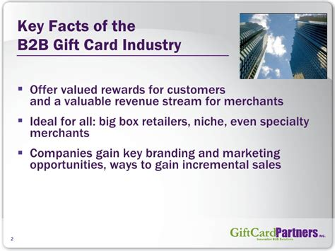 Gift Card Industry - about the b2b gift card industry