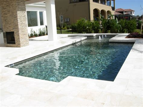 modern pool contemporary pool design orlando geometric pool lake nona