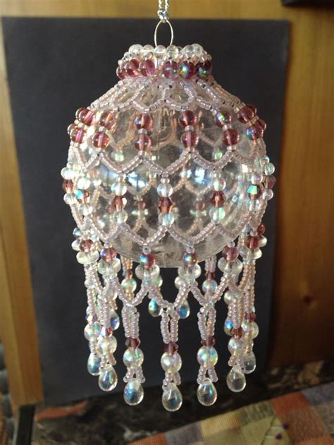 beaded ornament covers 1000 images about beading ornaments jewelery
