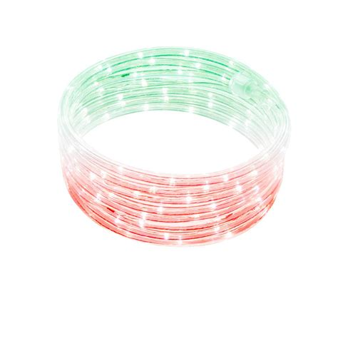 16 5 Solar Powered Indoor Outdoor 50 Led Rope Light White