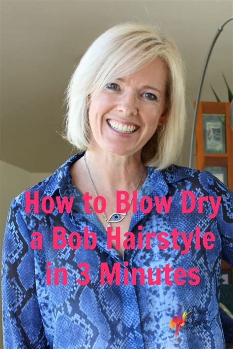 how to blow dry a bob how to blow dry a bob in 3 minutes inside out style
