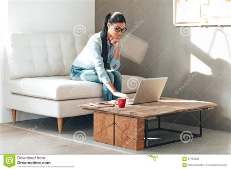 couch glasses have some work to do stock photo image 67150282