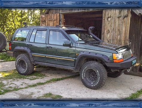 Jeep Zj Jeep Grand Zj Front Window Spoiler