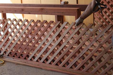 trellis wood strips woodwork building wood lattice panels plans pdf