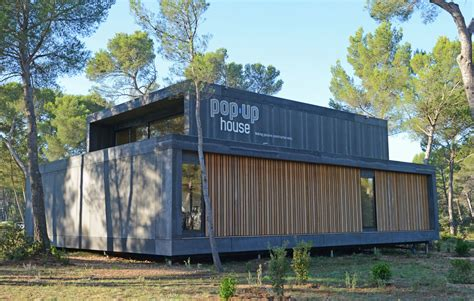 pop up house usa 410m 178 office in aix en provence popup house