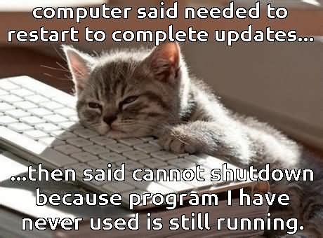Computer Illiterate Meme - don t worry i am from tech support funny computer meme picture