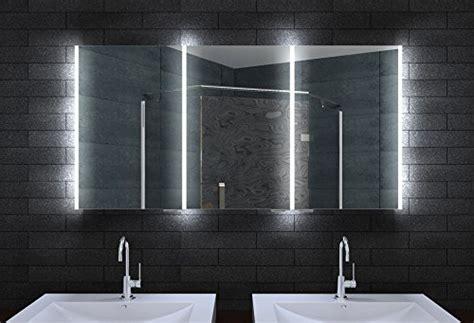 spiegelschrank dänisches bettenlager spiegelschrank bad mit led beleuchtung innenr 228 ume und