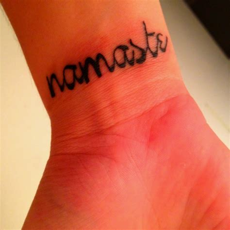 namaste symbol tattoo designs namaste tattoos page pictures to pin on tattooskid