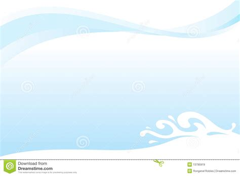 template water water splash template royalty free stock images image