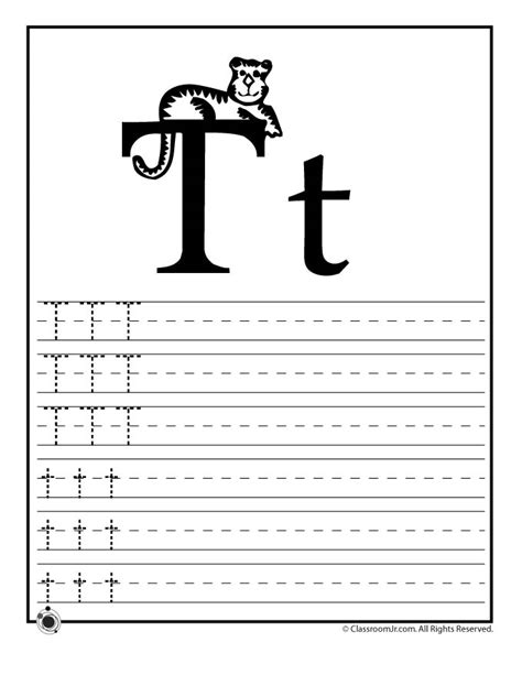 learning abc s worksheets learn letter t classroom jr