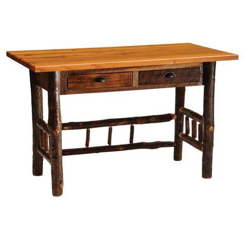 reclaimed wood writing desk barnwood writing desk lodge craft