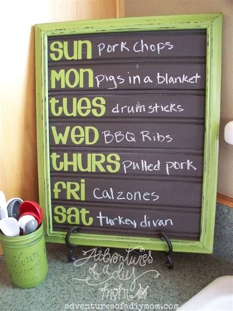 diy chalkboard menu diy chalkboard beadboard menu board lullaby paint