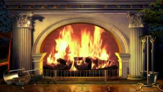 kamin hintergrund fireplace yule log background 1080p