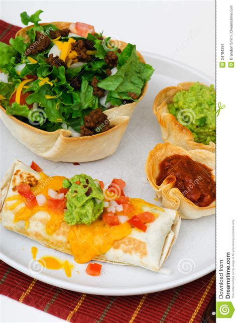 mexican dinner mexican dinner stock images image 24784394