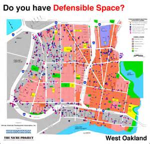 summary map west oakland defensible space clearwater