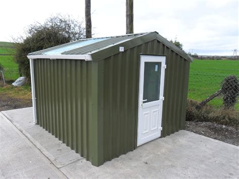 Insulated Workshop Shed by Steel Sheds Ireland Dublin Wicklow Wexford Sheds Fencing