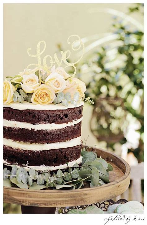 Rustic Bridal Shower Cakes by Kara S Ideas Rustic Outdoor Bridal Shower Kara S