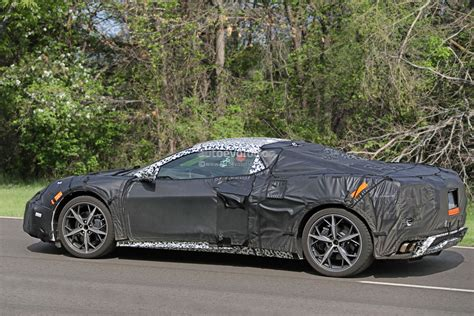Chevrolet Corvette C8 by Mid Engine Corvette C8 Shows Removable Roof Panel Flat