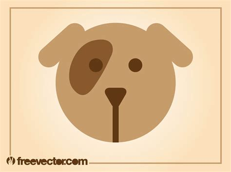 mutt puppy icon vector