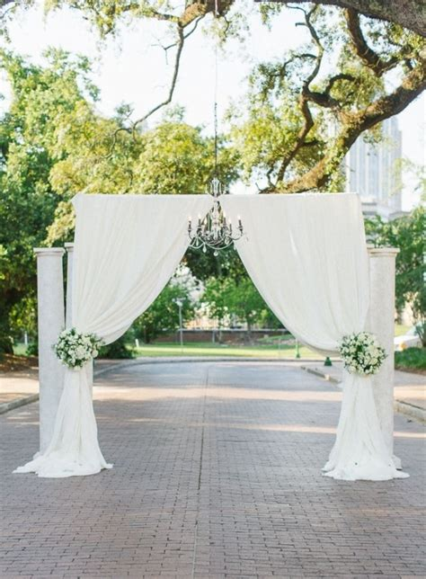 Wedding Arch And Columns by 53 Wedding Arches Arbors And Backdrops