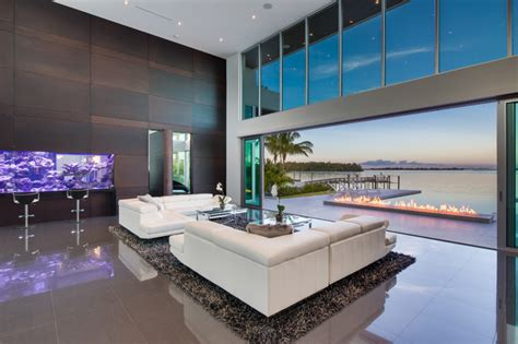 Modern Foyer Chandeliers Modern Living Room W Living Color Aquarium Wall