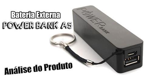 Power Bank Samsung Model A5 power bank a5 2600 mah an 225 lise do produto dicas de uso
