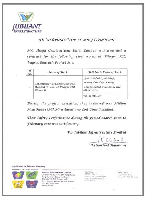aneja constructions india ltd