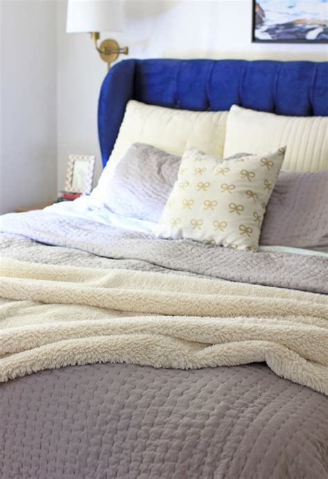 how to layer a bed how to layer your bed for winter at home in love