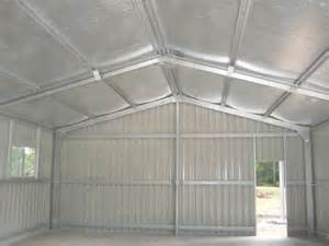 Best Way To Insulate Shed by Insulbreak 65 Insulation Solution For Steel Sheds And
