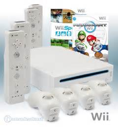 mario kart wii console wii console white incl mario kart wii sports 4