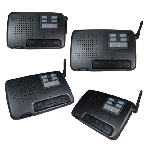 intercom 4 channel digital wireless office home store