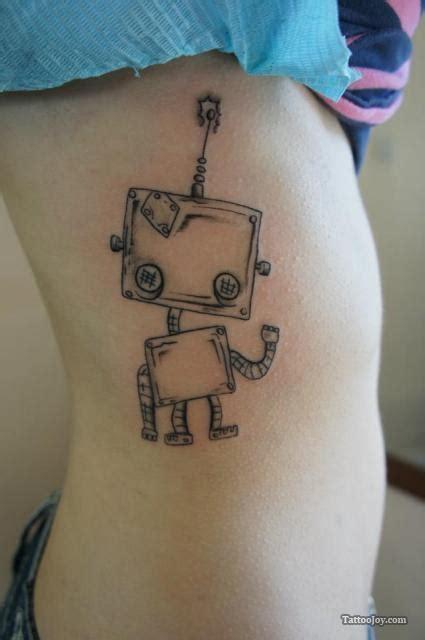 robot tattoos thetattooedgeisha
