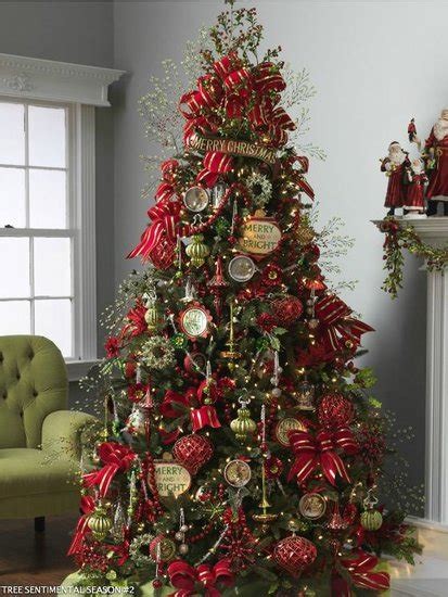 beauty and the green christmas tree inspiration