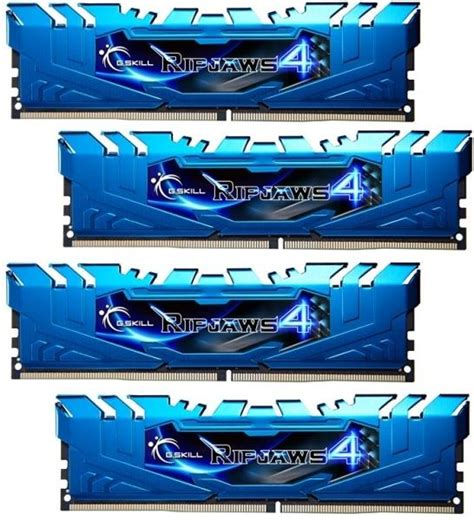 Gskill Ddr4 Tridentz Pc25600 32gb 4x8gb Channel ram g skill f4 2400c15q 32grb 32gb 4x8gb ddr4 2400mhz ripjaws 4 blue channel kit