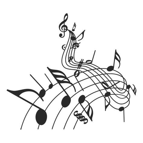 imagenes de notas musicales sin fondo vinilo decorativo notas musicales iii