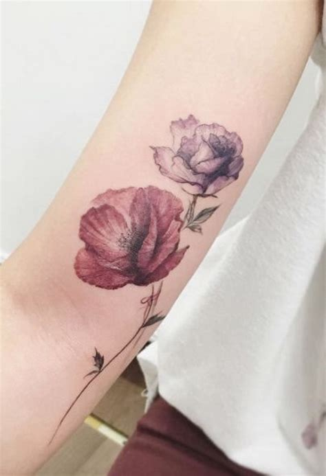 watercolor rose tattoo designs 30 beautiful flower designs listing more