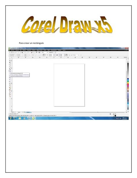 corel draw x5 learning video ejerciicio 2 corel draw x5