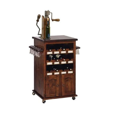 mobile portabottiglie vino mobile portabottiglie e portabicchieri con ruote per
