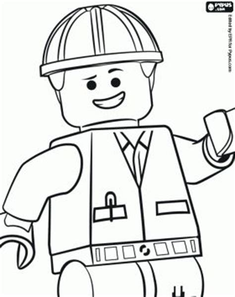 coloring pages lego movie emmet the lego movie coloring pages emmet an ordinary person