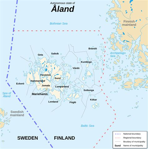 aland islands map aland islands map map